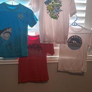 Boys Quiksilver T-shirt Bundle 10/12